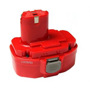 Аккумулятор усиленный Pitatel для Makita 1822, 1834, 1835, 193102-0 Ni-MH 3300mah
