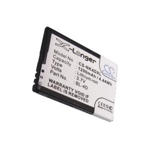 Аккумулятор CameronSino для Nokia BL-4D 1200mah