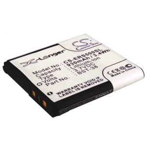 Аккумулятор CameronSino для Sony Ericsson BST-38 930mah