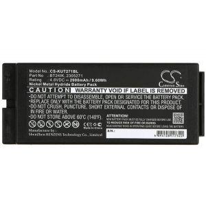Аккумулятор CameronSino для IKUSI TM70/3, TM70/8 (BT24IK, BT27IK) 2000mah