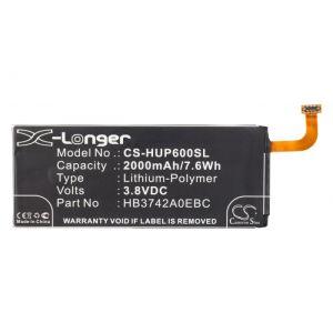 Аккумулятор CameronSino для Huawei Ascend G6, G620S, G630, P6 (HB3742A0E8C) 2000mah