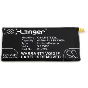 Аккумулятор CameronSino для LG K220DS X Power 4100mah
