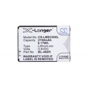Аккумулятор CameronSino для LG K7 X210ds, K8 LTE K350E 2150mah