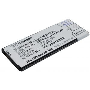 Аккумулятор CameronSino для Samsung Galaxy Note 4 Duos (EB-BN916) 3000mah с NFC