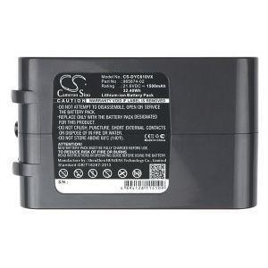 Аккумулятор Pitatel для Dyson DC58, DC59, DC61, DC62, V6, V6+ 1500mah