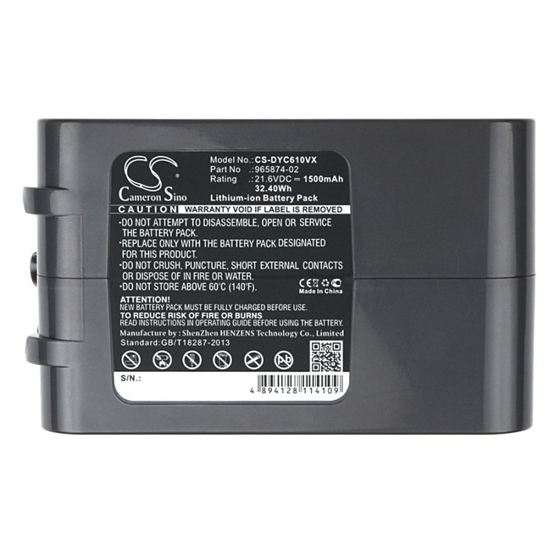 аккумулятор для dyson dc62 2500mah