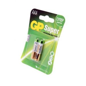 Батарейки GP Super Alkaline AAA 2шт
