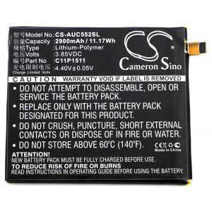 Аккумулятор CameronSino для Asus ZenFone 3 (ZE552KL, ZS570KL), ZenFone 4 Selfie Pro (ZD552KL) 2900mah