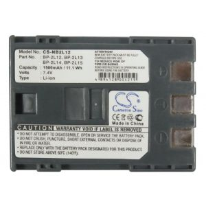 Аккумулятор CameronSino для Canon BP-2L12, BP-2L13, BP-2L14, NB-2L 1500mAh