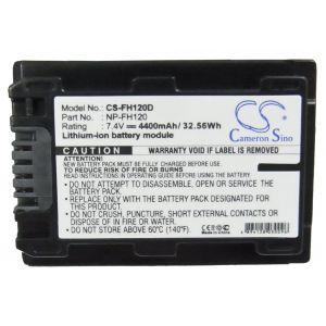 Аккумулятор CameronSino для Sony NP-FH100, NP-FH120 4400mah