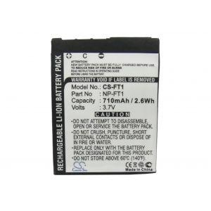 Аккумулятор CameronSino для Sony NP-FT1 710mah