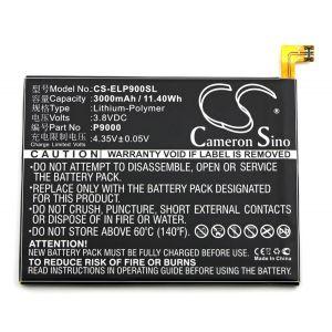 Аккумулятор CameronSino для Elephone P9000, P9000 Lite 3000mah