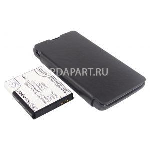 Аккумулятор CameronSino для Sony Xperia TX 3400mah с чехлом книжкой черный