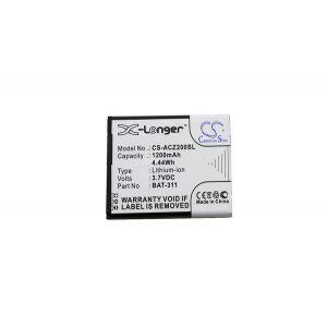Аккумулятор CameronSino для Acer Liquid Z200, Z220, M220 1200mah CS