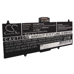 Аккумулятор CameronSino для Samsung Galaxy TAB P7100 (SP4175A3A) 6860mah