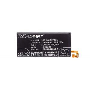 Аккумулятор CameronSino для Samsung Galaxy J5 Prime SM-G570, On5 (2016) SM-G5510 (EB-BG570ABE) 2600mah