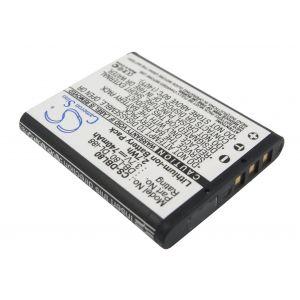 Аккумулятор CameronSino для D-Li88, DB-L80, PX1686, VW-VBX070 740mah