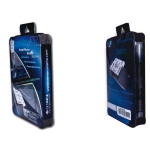Аккумулятор усиленный CameronSino для Samsung Galaxy Ace 2 (EB425161LU) 3100mah черный