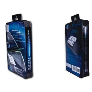 Аккумулятор CameronSino для Samsung Galaxy S3 Mini (EB-F1M7FLU) 3000mah синий