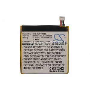 Аккумулятор CameronSino для Huawei Ascend P1 XL, D1 Quad XL (HB5Q1HV) 2000mah CS