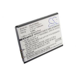 Аккумулятор CameronSino для МТС 960, 970, 972, 982, Alcatel 903, 985, 4010D, Мегафон Optima 1500mah