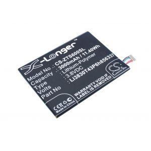 Аккумулятор CameronSino для Blackberry Aurora, ZTE N1 Lite, V5 Pro, Blade X9 3000mah