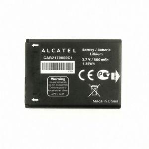 Аккумулятор Alcatel One Touch 100, 200, 300, 500, 1000 серии (4 контакта) 400mah