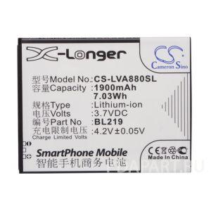 Аккумулятор CameronSino для Lenovo A388t, A880, A916, S856 1900mah