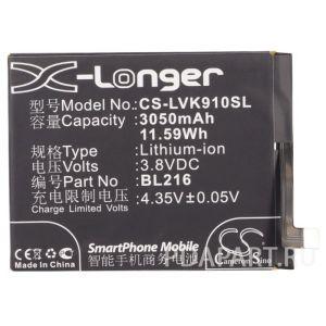 Аккумулятор CameronSino для Lenovo Vibe Z K910 3050mah