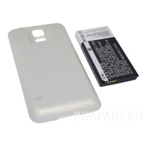 Аккумулятор CameronSino для Samsung Galaxy S5 SM-G900 (EB-B900BC) 5600mah золотой
