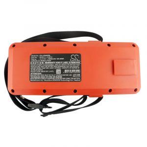 Аккумулятор CameronSino для Leica TPS400, TPS700, TPS1200 (GEB371) 8200mAh