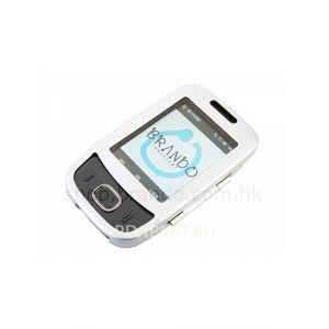 Чехол металлический для HTC Touch Viva/t2223 Brando (Серебристый)