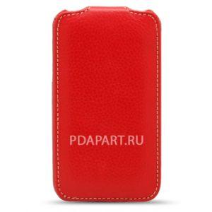 Чехол Samsung S8600 Wave 3 - Jacka Type красный