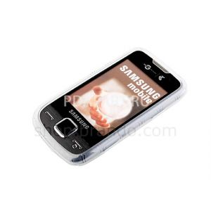 Чехол защитный Samsung S5600 Preston Circle Patterned Soft Plastic Case черный