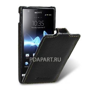 Чехол Sony Xperia U - Jacka Type черный