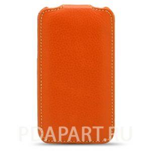 Чехол HTC One V - Melkco Jacka Type оранжевый