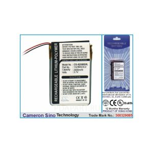 Аккумулятор CameronSino для Garmin iq3600 2000mah