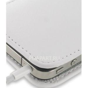 Чехол PDair для Apple iPhone 4 вертикальная кобура белый