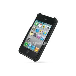 Чехол PDair для Apple iPhone 4 задняя крышка черный