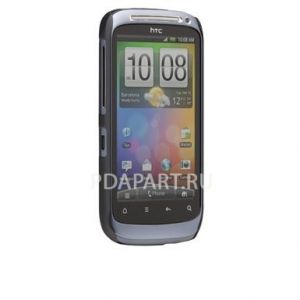 Чехол HTC Desire S CaseMate Bar There серебр металик