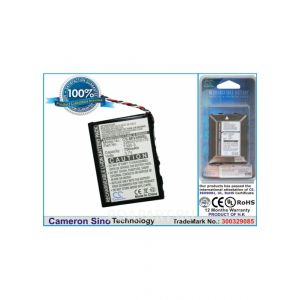 Аккумулятор CameronSino для Mitac Moov 400, 500, 580 750mah