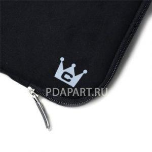Чехол CaseCrown Acer Iconia A500 Faux Suede Zip Sleeve черный