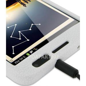 Чехол Samsung Galaxy Note PDair Luxury белый