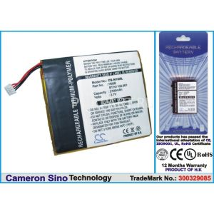 Аккумулятор CameronSino для Acer N10, Fujitsu-Siemens Loox 600 2700mah