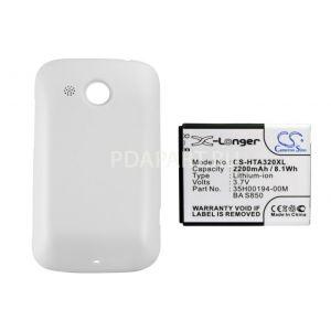 Аккумулятор CameronSino для HTC Desire C 2200mah белый