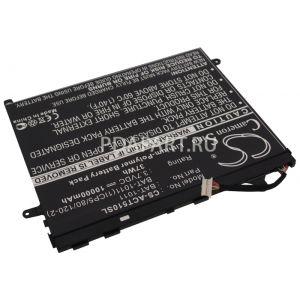 Аккумулятор CameronSino для Acer Iconia Tab A510, A700, A701 10000mah