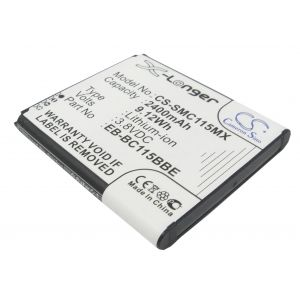 Аккумулятор CameronSino для Samsung Galaxy S5 Zoom, K Zoom (EB-BC115BBC) 2400mah