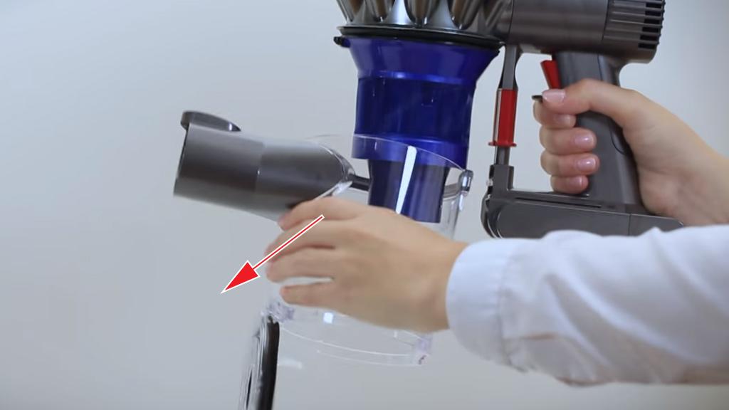 замена аккумулятора в пылесосе dyson