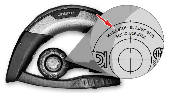 Как узнать номер модели наушников, гарнитур и акустики Jabra и найти название